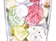 フルーツと氷のチェーサムネイル